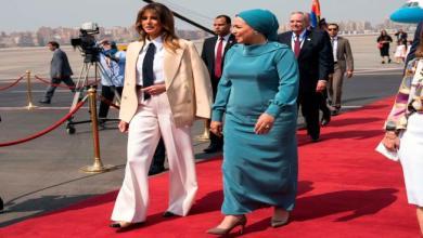 Photo of انتصار السيسي مرحبة بميلانيا ترامب: في بلدها الثاني مصر
