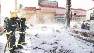 """Photo of """"مدني مكة"""" يخمد حريق محطة الراشدية.. وبدء التحقيق في الحادث"""