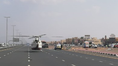 Photo of إنقاذ مواطن وأطفاله الأربعة بعد تدهور سيارتهم على طريق كلباء – مليحة