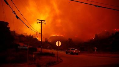 Photo of حريق ضخم يجتاح شمال كاليفورنيا.. ووفاة 9 أشخاص