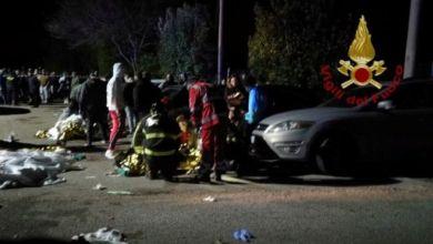 Photo of مقتل 6 أشخاص في تدافع بملهى في إيطاليا