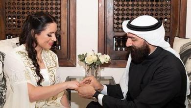 Photo of الاعلان عن خطوبة مصارع كويتي من اول مصارعة اردنية