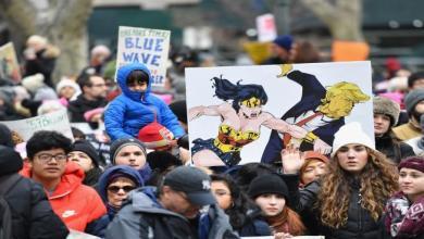 "Photo of ""مسيرة النساء"" مجدداً في مئات المدن الأميركية ضد ترامب"