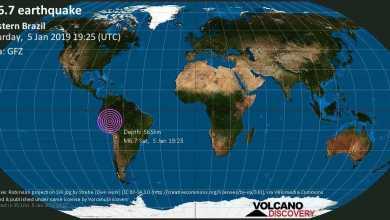 Photo of زلزال بقوة 6.7 درجة يضرب منطقة الأمازون