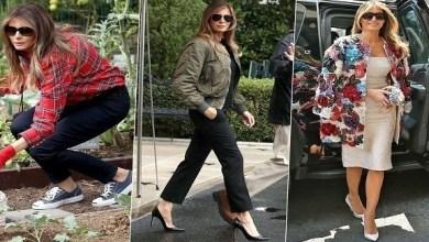 Photo of أكثر أزياء ميلانيا ترامب إثارة للجدل