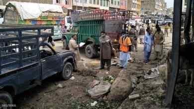 Photo of 14 قتيلا بانفجار داحل سوق في باكستان