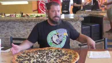Photo of تحد مثير.. التهم هذه البيتزا تحصل فورا على 500 دولار