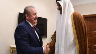 Photo of أمير قطر يستقبل رئيس مجلس الأمة التركي
