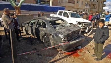 Photo of انفجار سيارة في بنغازي يصيب مسؤولا أمنيا بجروح