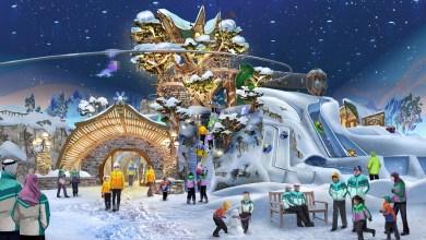 Photo of أبوظبي تحتضن أكبر حديقة ألعاب ثلجية مغطاة في العالم