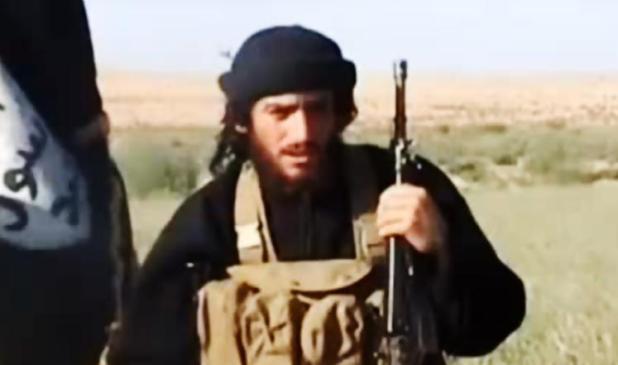 """أبو محمد العدناني المتحدث باسم """"داعش"""""""