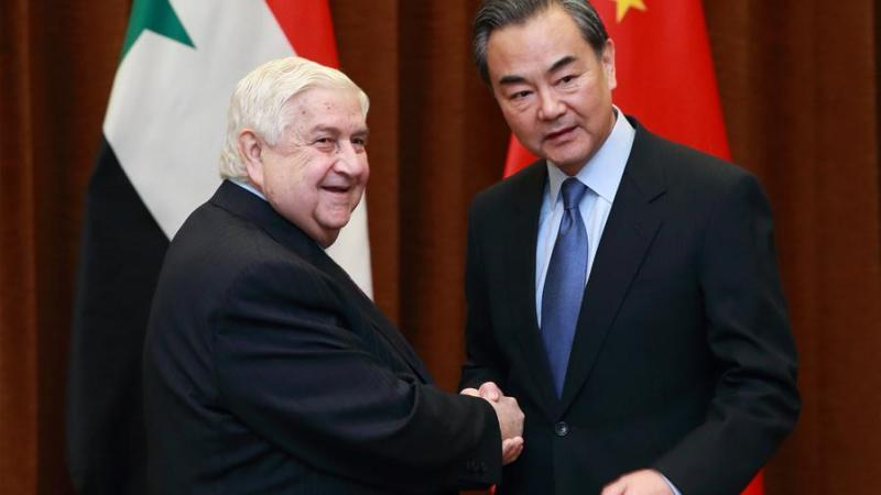 خلفيّات رغبة الصين تطوير علاقاتها العسكرية مع سوريا