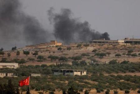 """تركيا تقصف أهدافاً لـ""""قوات سوريا الديمقراطية"""" شمالي منبج"""