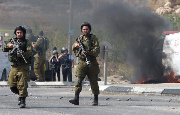 تفجير عبوتين في منطقة الحدود مع غزة تزامن مع إطلاق صاروخ مضاد للدبابات باتجاه دورية إسرائيلية