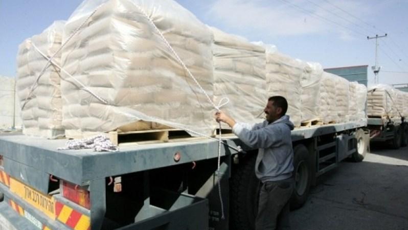 انقطاع الإسمنت وارتفاع أسعاره في غزة