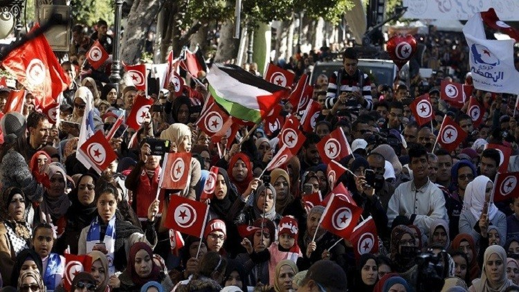 تظاهرات مطالبة بفرص عمل وتنمية في تونس