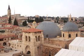في الصورة: كنيسة القيامة في القدس المحتلة في فلسطين.