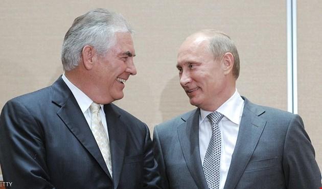 الضربة الأميركية تعطي تيلرسون دفعة قبل زيارته موسكو
