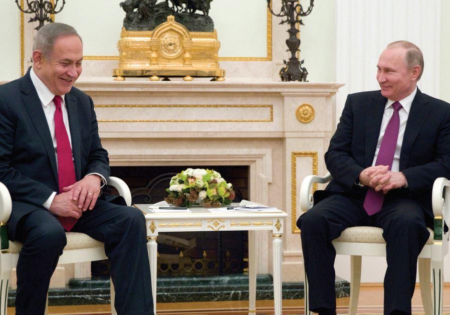 نتنياهو يبحث مع بوتين في موسكو  آخر التطورات الإقليمية