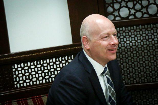 غرينبلات: خطة السلام لا تشمل كونفدرالية تضم إسرائيل وفلسطين والأردن