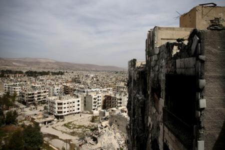 الجيش السوري يوشك على استعادة القابون