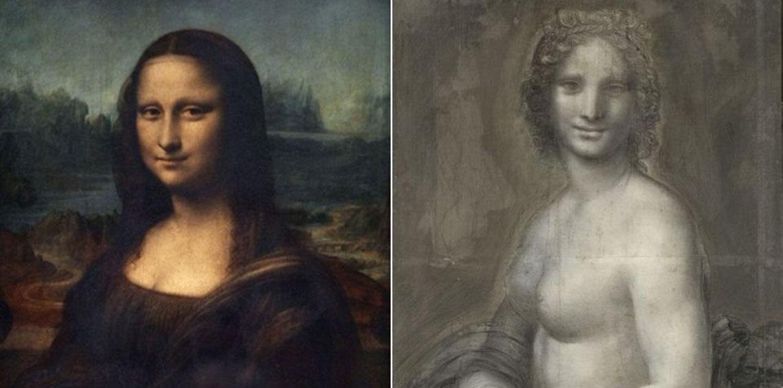هل رسم دافينشي نسخة عارية من موناليزا؟