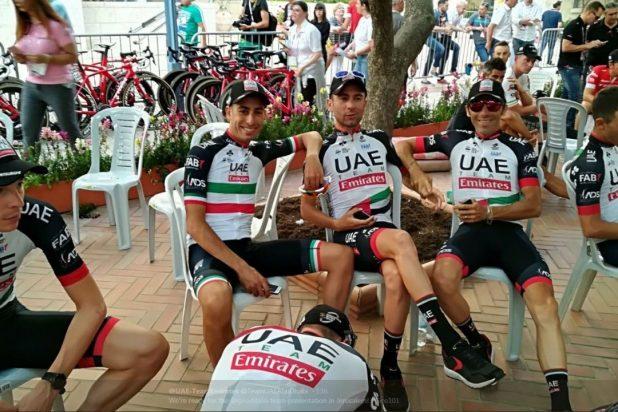 مشاركة إماراتية وبحرينية في سباق دراجات في إسرائيل