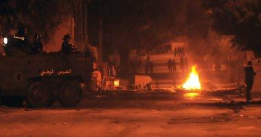 اندلاع مواجهات بين الشرطة ومحتجين في بلدة بجنوب تونس لثالث ليلة
