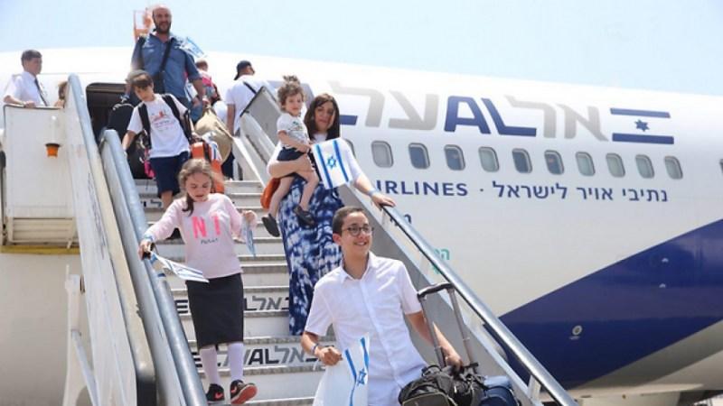 زيادة في المهاجرين اليهود إلى فلسطين المحتلة في 2018