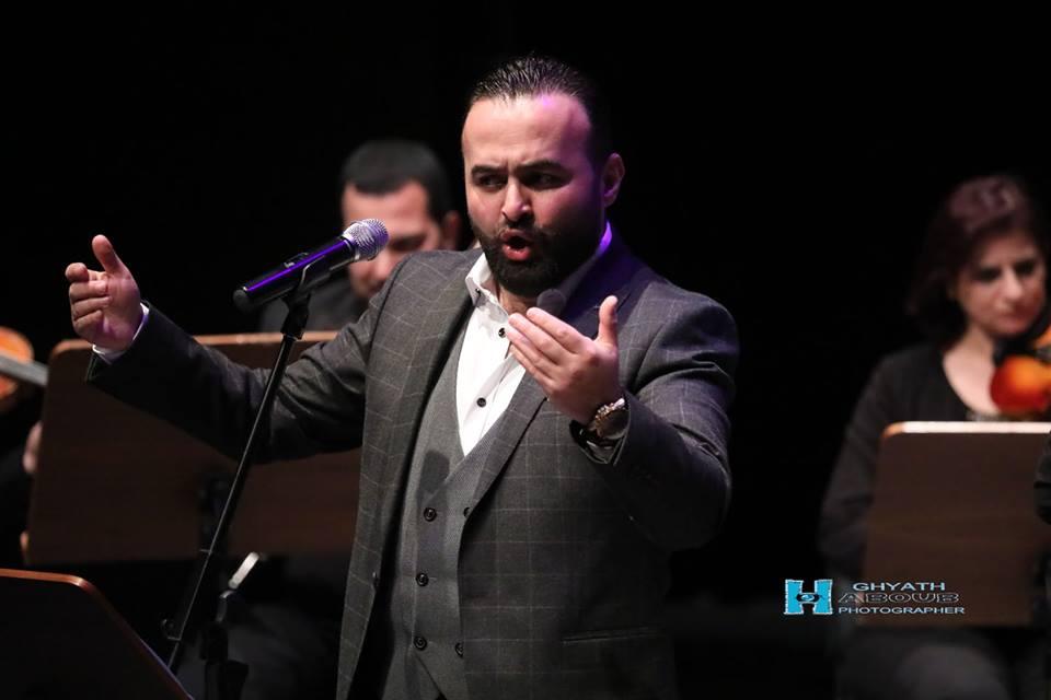 أمسيّة في كنوز الأغنية السوريّة: سومر نجار يغني حسام تحسين بك وشاكر بريخان