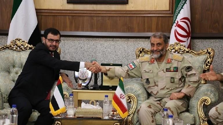 إيران والإمارات تؤكدان ضرورة النهوض بالعلاقات الدبلوماسية وتأمين منطقة الخليج