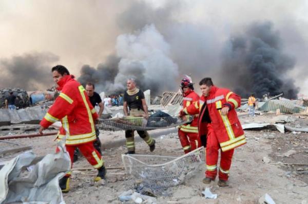 انفجار في لبنان