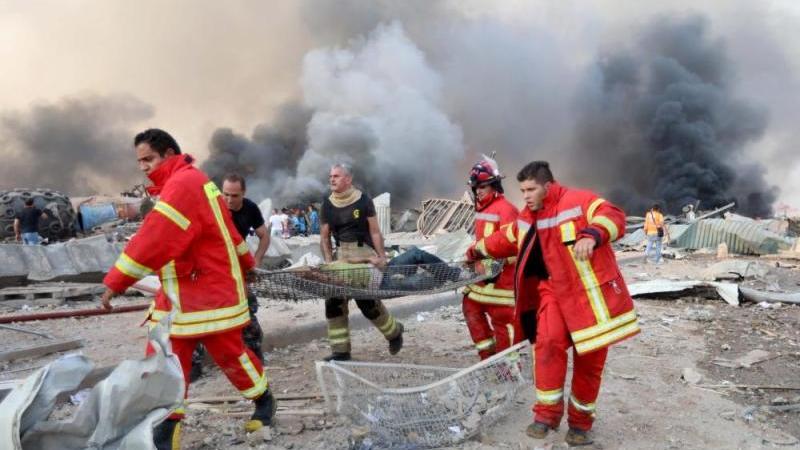 وزير الصحة: مقتل أكثر من 50 وإصابة أكثر من 2500 في انفجار بيروت