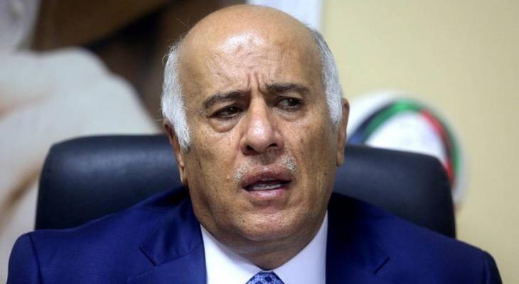 الرجوب: التطبيع وصفقة القرن أنهيا وجود جبهة عربية حاضنة للشعب الفلسطيني