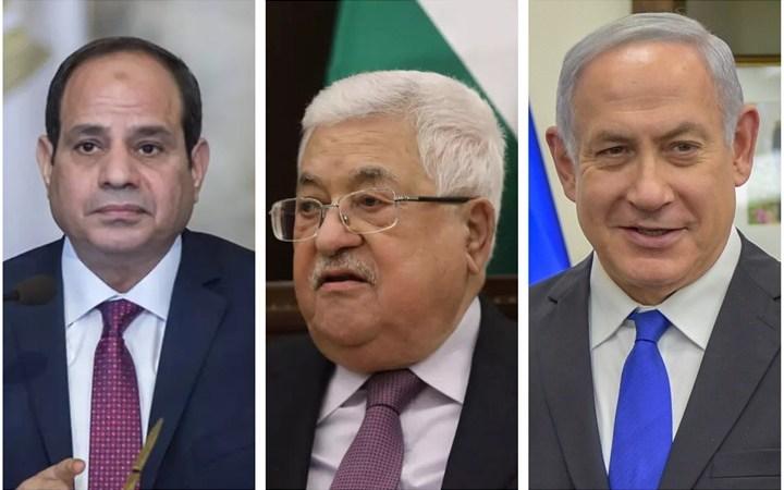 الرئيس المصري يبدأ اتصالات لإعادة خط التفاوض بين عباس ونتنياهو
