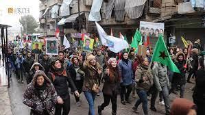 """""""ناشونال انترست"""": يجب أن يبدأ بايدن بتصحيح السياسة الخارجية في سوريا"""