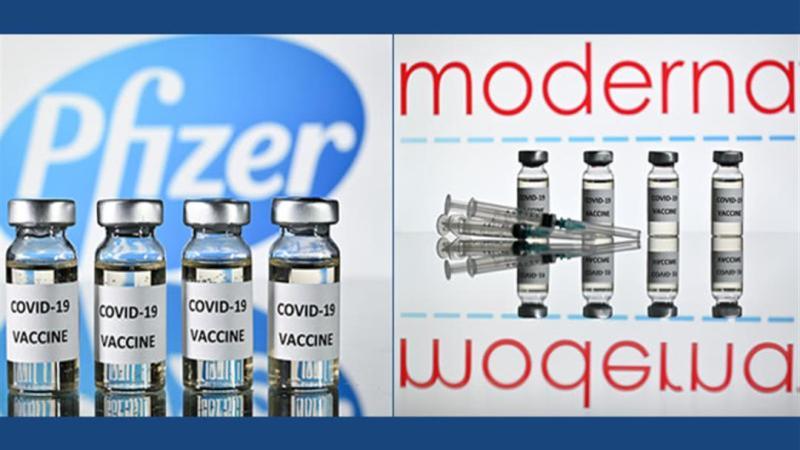 تقرير جديد: لقاحا موديرنا وفايزر يمنعان نقل العدوى