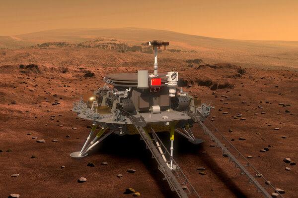 الصين تهبط على كوكب المريخ
