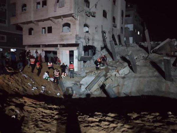 ضحايا العدوان الإسرائيلي على قطاع غزة