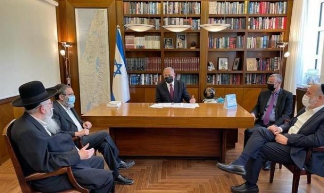 رؤساء أحزاب اليهود الحريديم يشنون هجوما حادا على بينت ويصفونه بالوغد