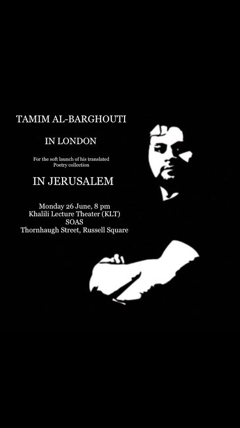 Tamim Barghouti and Translating Popular Arabic Poetry into English