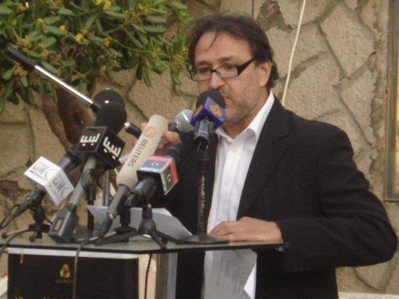 Mattaw at the Tripoli International Poetry Festival.