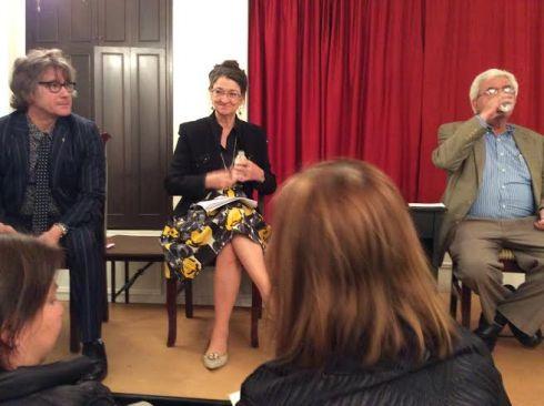 Philip Kennedy, Marina Warner, and Elias Khoury.
