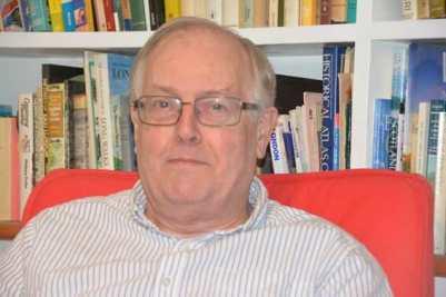 Translator Paul Starkey.