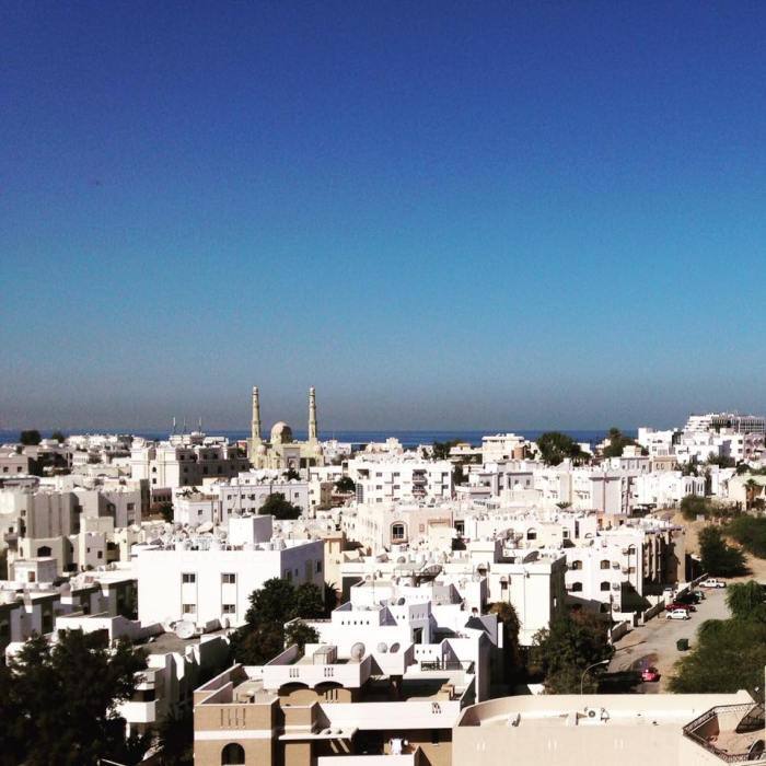 From the IPAF Facebook page: The IPAF team has arrived in Muscat ahead of our shortlist announcement on Tuesday! And here's the view from our hosts' library.