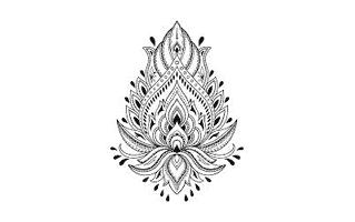 Modern Mehndi Design