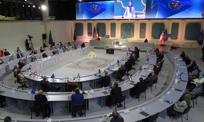 The three-day session of the National Council of Resistance of Iran on the 40th anniversary of the foundation of the NCRI