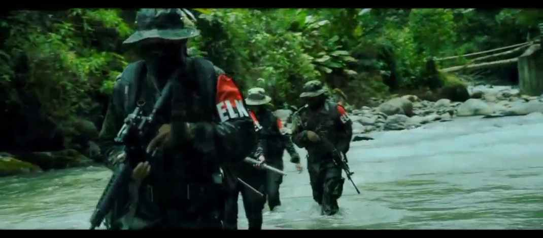 Colombia: An Ejército de Liberación Nacional (ELN) fighter have released a video which includes various footages of fighters.