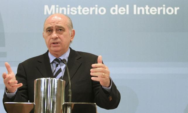 ministro degli interni spagnolo