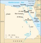 Egitto mappa